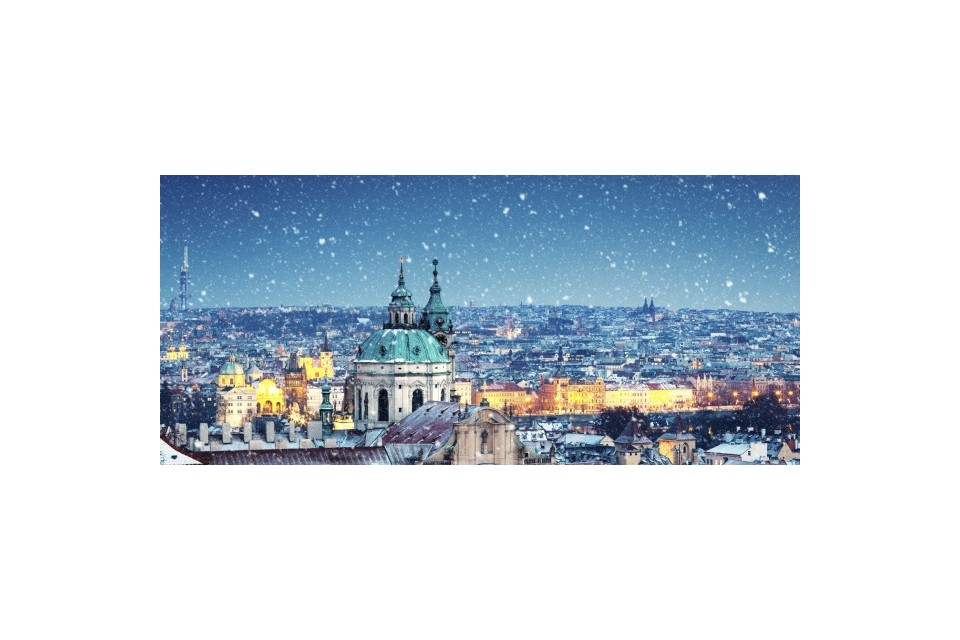 Предколедна златна Прага - с полет от Варна